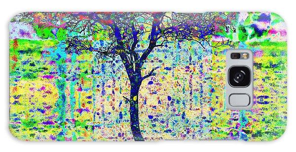 Acacia Tree Galaxy Case