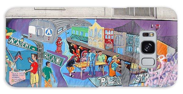Academy Street Mural Galaxy Case
