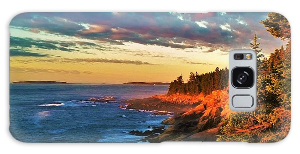 Acadia At Dawn Galaxy Case