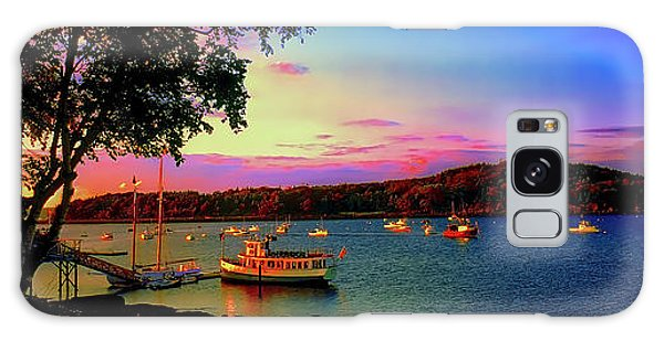 Acadia Bar Harbor Sunset Cruises.tif Galaxy Case