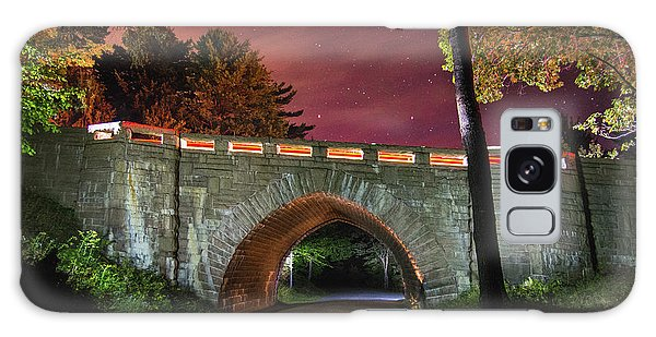 Acadia Carriage Bridge Under The Stars Galaxy Case