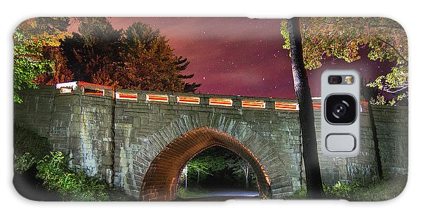 Acadia Carriage Bridge Under The Stars Galaxy Case