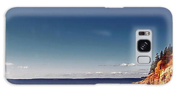 Acadia, National Park, Light House, Maine  Galaxy Case