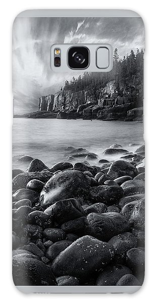 Otter Galaxy S8 Case - Acadia Radiance - Black And White by Expressive Landscapes Fine Art Photography by Thom