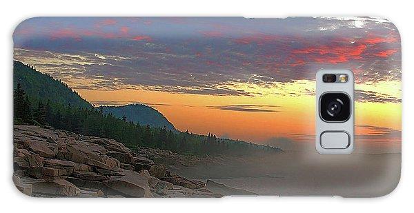 Acadia Sunrise  Galaxy Case