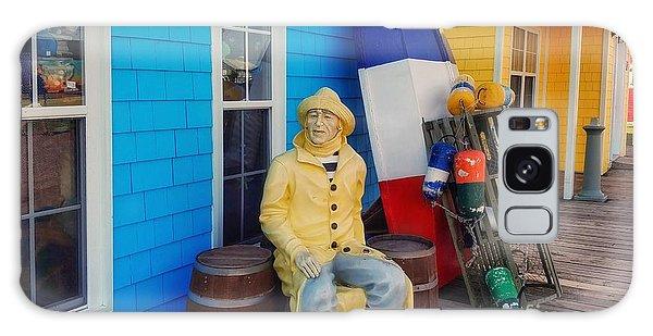 Acadian Fisherman, Prince Edward Island, Canada Galaxy Case