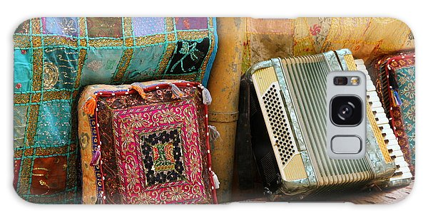 Accordion  With Colorful Pillows Galaxy Case