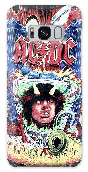 Acdc Galaxy Case by Gina Dsgn