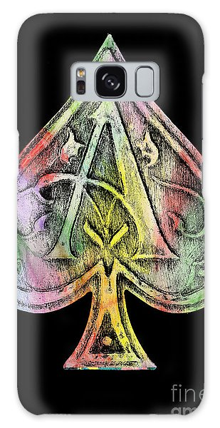 Hundred Galaxy Case - Ace Of Spades Champagne by Jon Neidert