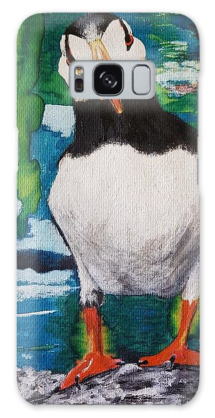 Ace   Puffin Huff Galaxy Case
