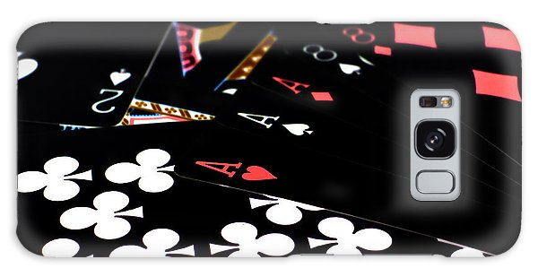 Aces And Eights Galaxy Case