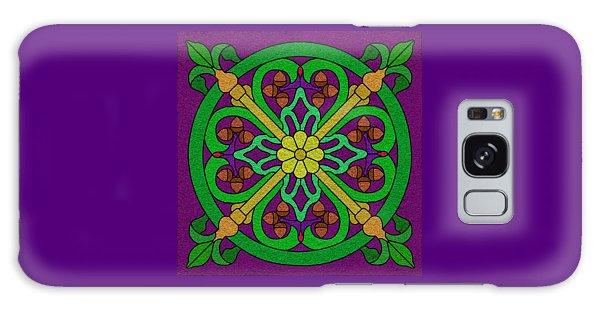 Acorn On Dark Purple Galaxy Case