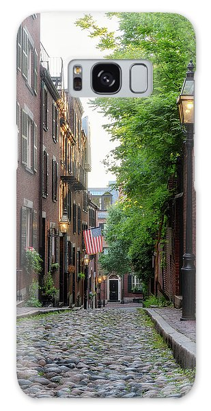 Galaxy Case featuring the photograph Acorn St. 1 by Michael Hubley