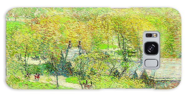 Central America Galaxy Case - Across The Park by Childe Hassam