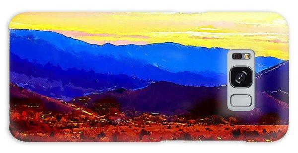 Acton California Sunset Galaxy Case