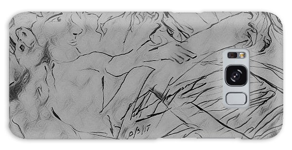 Galaxy Case - Adam Andeve The Creation Story by Love Art Wonders By God