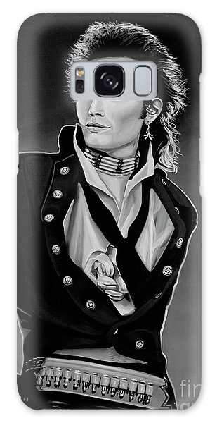 Punk Galaxy Case - Adam Ant Painting by Paul Meijering