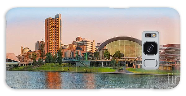 Adelaide Riverbank Panorama Galaxy Case