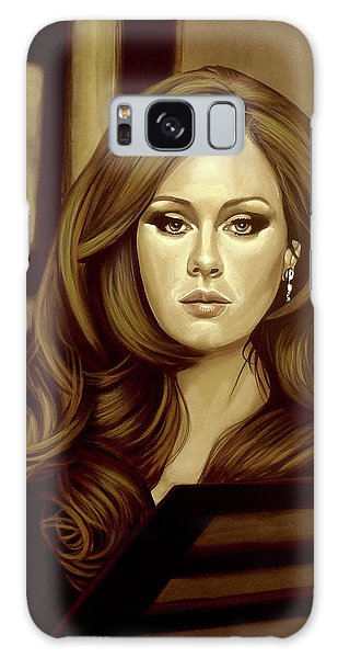 Adele Galaxy S8 Case - Adele Gold by Paul Meijering
