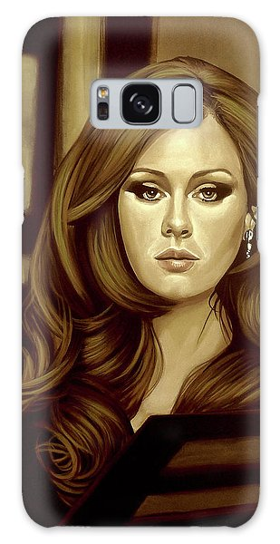 Rhythm And Blues Galaxy S8 Case - Adele Gold by Paul Meijering