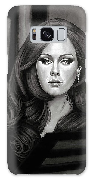 Adele Galaxy S8 Case - Adele Mixed Media by Paul Meijering