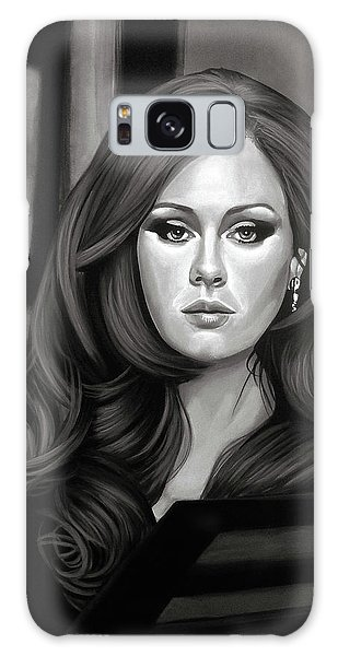Rhythm And Blues Galaxy S8 Case - Adele Mixed Media by Paul Meijering