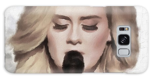 Adele Galaxy S8 Case - Adele Portrait Hello by Yury Malkov