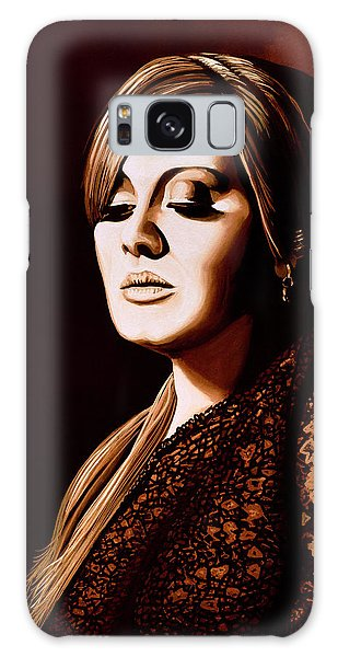 Adele Galaxy S8 Case - Adele Skyfall Gold by Paul Meijering