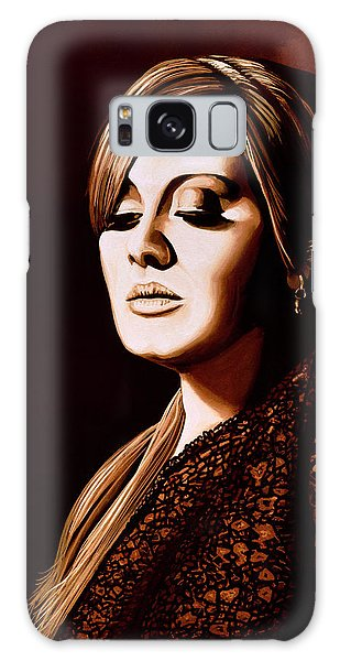 Rhythm And Blues Galaxy S8 Case - Adele Skyfall Gold by Paul Meijering