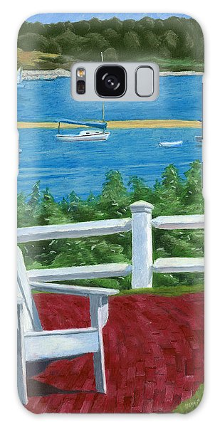 Adirondack Chair On Cape Cod Galaxy Case