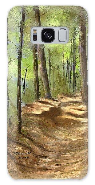 Adirondack Hiking Trails Galaxy Case by Judy Filarecki