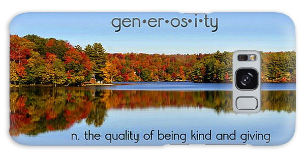 Adirondack October Generosity Galaxy Case by Diane E Berry