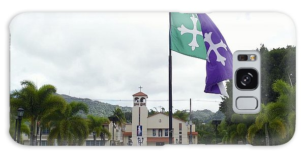 Adjuntas, Puerto Rico Flag Galaxy Case
