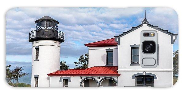 Admiralty Head Lighthouse Galaxy Case