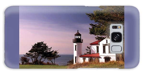 Admiralty Head Lighthouse On Whidbey Island, Washington State, Usa Galaxy Case by Greg Sigrist