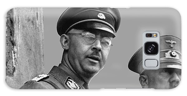 Adolf Hitler And Gestapo Head Heinrich Himmler Watching Parade Of Nazi Stormtroopers 1940-2015 Galaxy Case by David Lee Guss