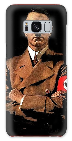 Adolf Hitler Painting Circa  1940 Color Added 2016 Galaxy Case