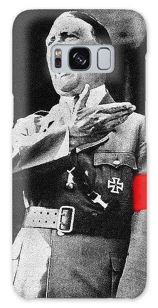 Adolf Hitler Ranting 1  Galaxy Case by David Lee Guss