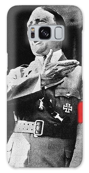 Adolf Hitler Ranting 1  Galaxy Case