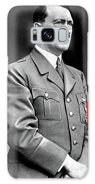 Adolf Hitler The Visionary Circa 1941 Color Added 2016 Galaxy Case