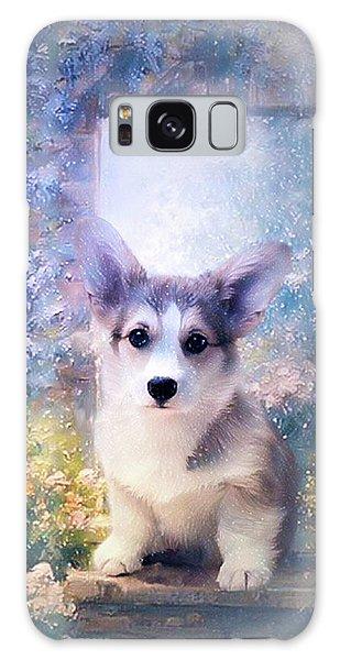 Adorable Corgi Puppy Galaxy Case