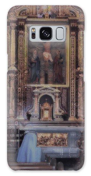 Adoration Chapel 5 Galaxy Case