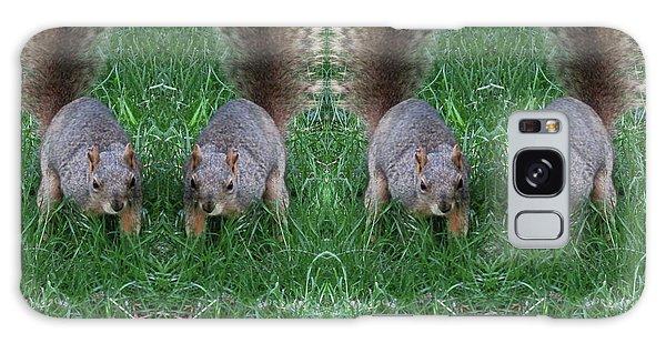 Advancing Army Of Squirrels Galaxy Case