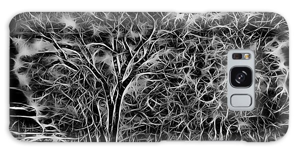 Advent Trees Galaxy Case by Aliceann Carlton