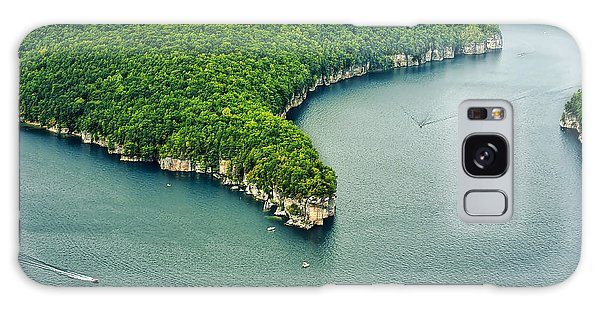 Aerial Image Of  Long Point Cliff Galaxy Case