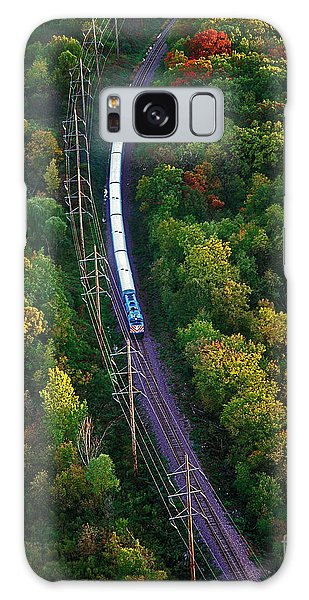 Aerial Of  Commuter Train  Galaxy Case