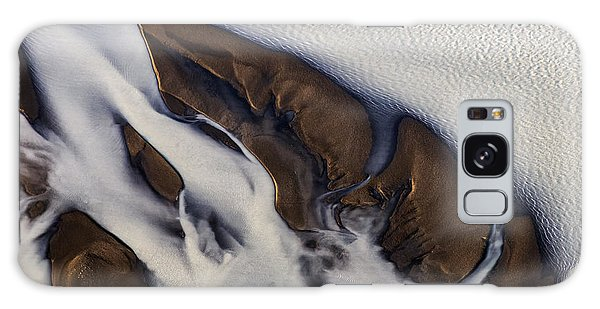 Aerial Photo Thjosa Iceland Galaxy Case by Gunnar Orn Arnason