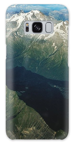 Aerial Photograph Of The Swiss Alps Galaxy Case