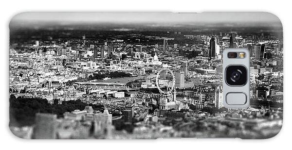 London Eye Galaxy Case - Aerial View Of London 6 by Mark Rogan