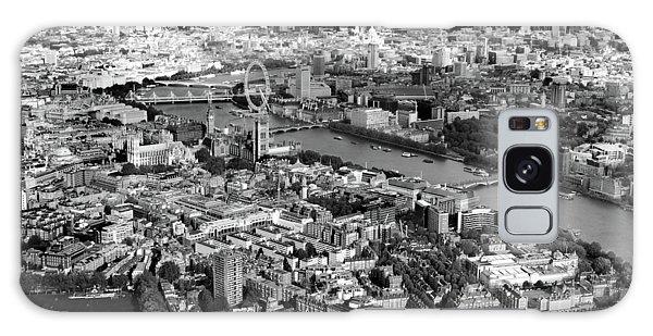 London Eye Galaxy Case - Aerial View Of London by Mark Rogan